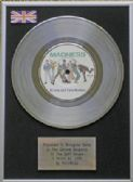 "MADNESS - 7"" Platinum Disc -  IT MUST BE LOVE"